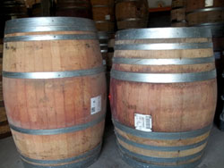Used Wooden Wine Barrel