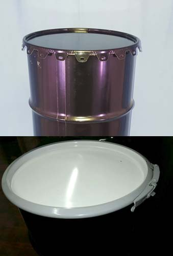 how to clean a steel drum
