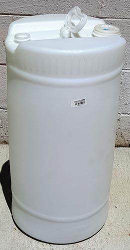 15 Gallon Poly Drum Natural