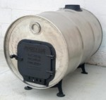 Stainless Steel Barrel Stove Kit