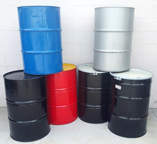 Reconditioned Metal Drums