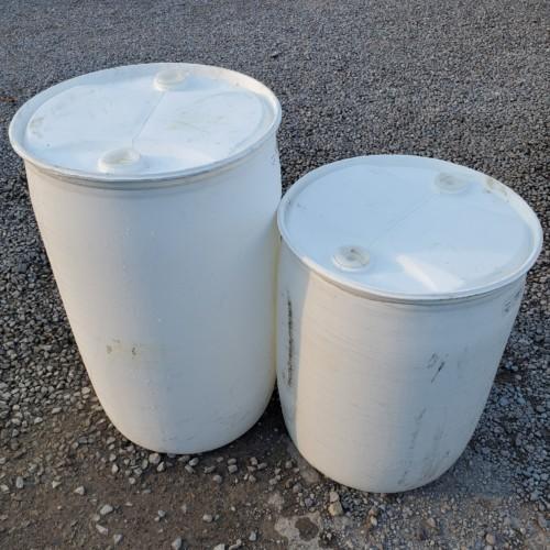 30 gallon poly drum closed head used volunteer drum llc. Black Bedroom Furniture Sets. Home Design Ideas