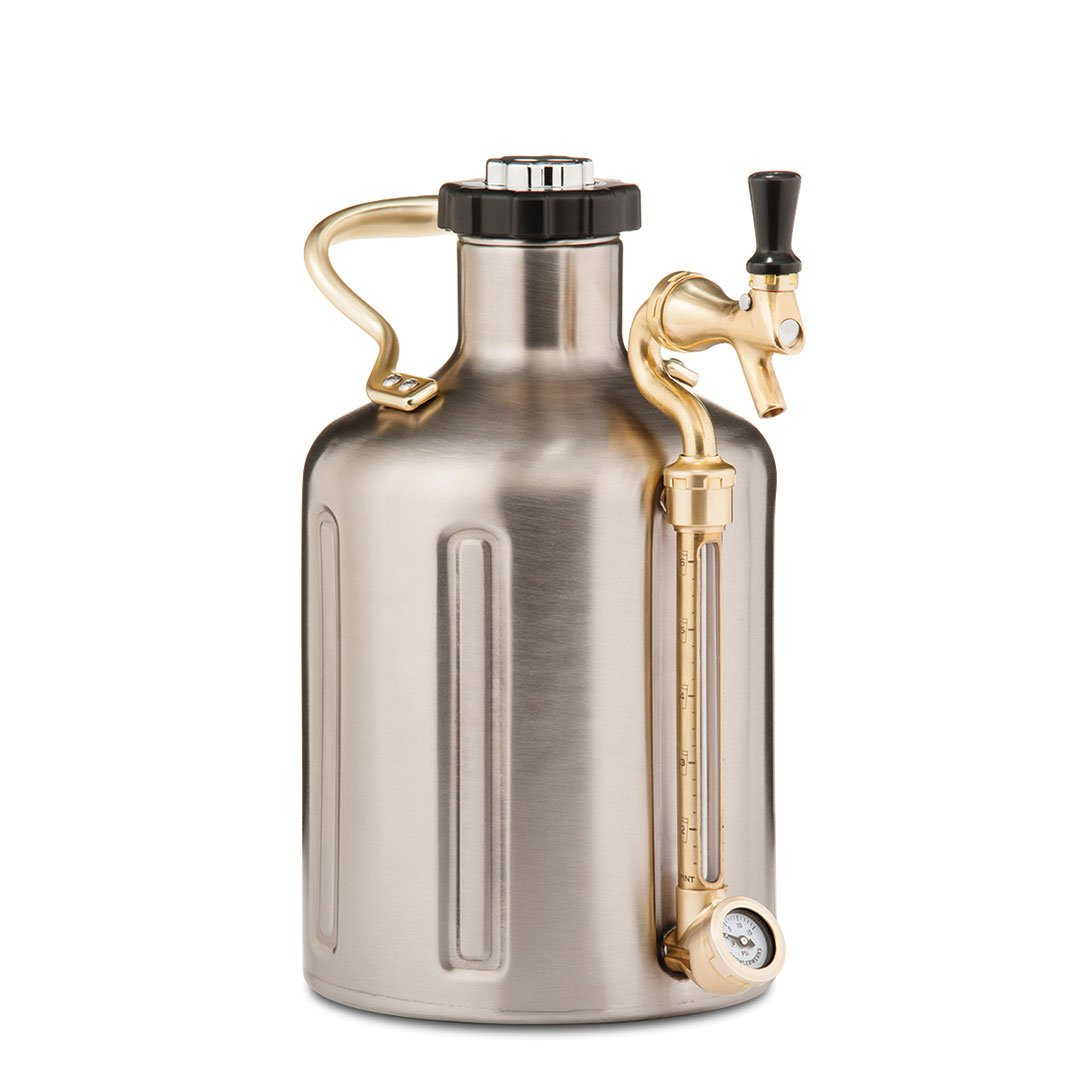 128Oz Stainless Steel Insulated Beer Growler